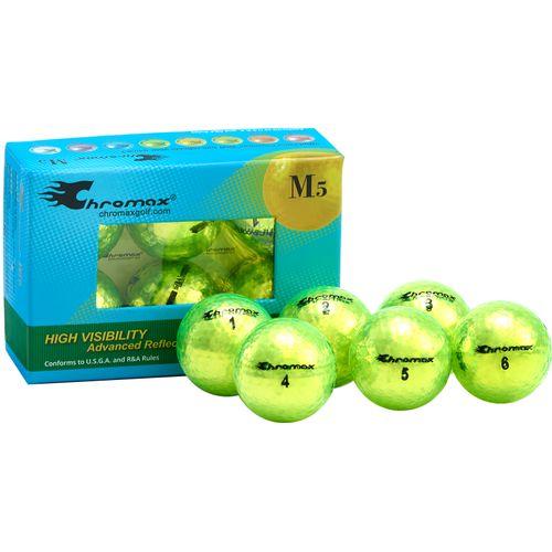 Chromax Metallic Green M5 Personalized Golf Balls - 6-Pack