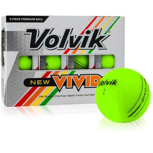 Volvik Vivid Matte Green Personalized Golf Balls